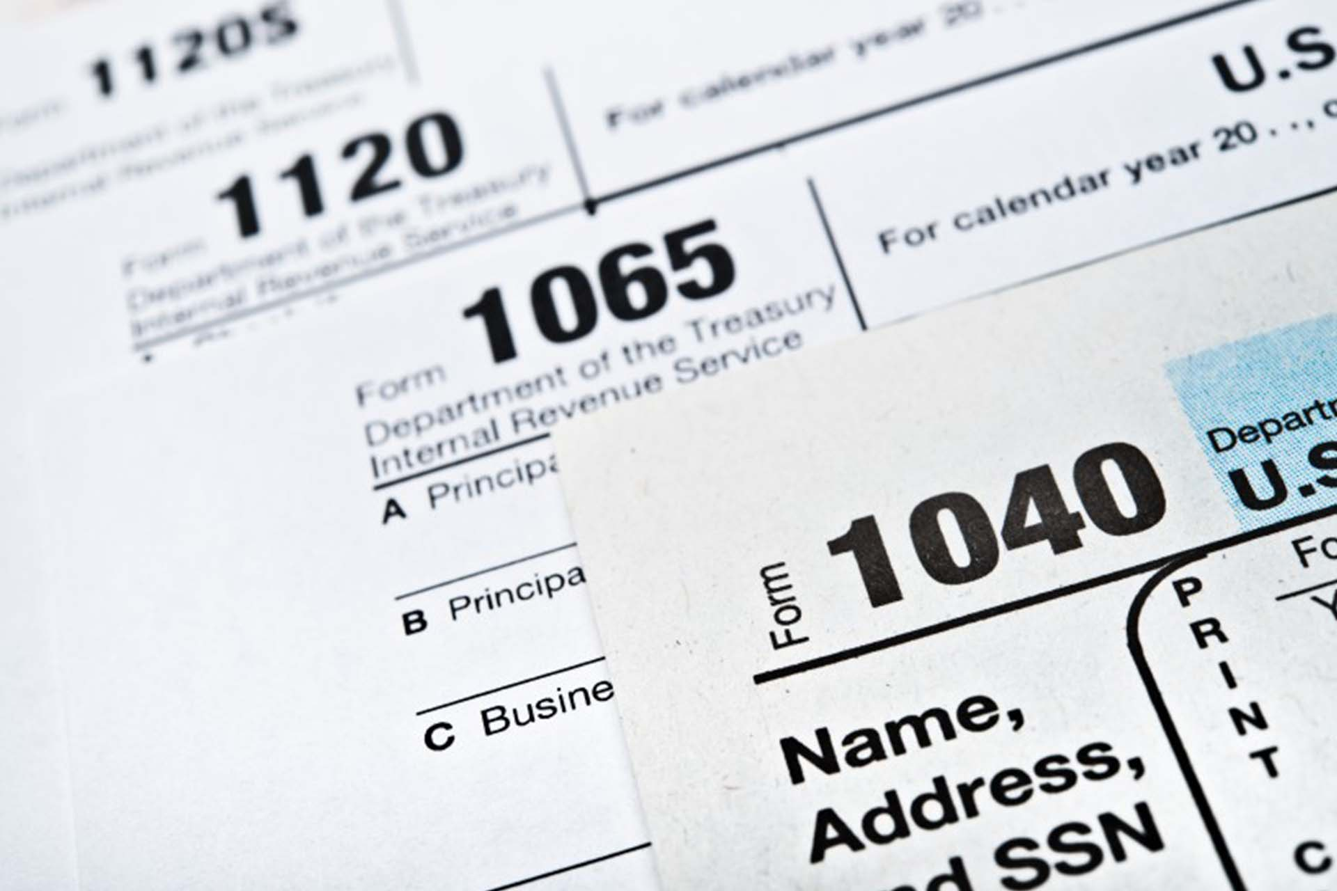 Business Taxes Image